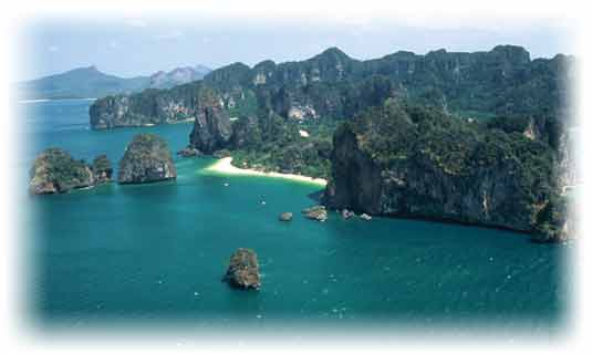 One of the Ao Nang - Krabi Beaches and the hotels Resorts
